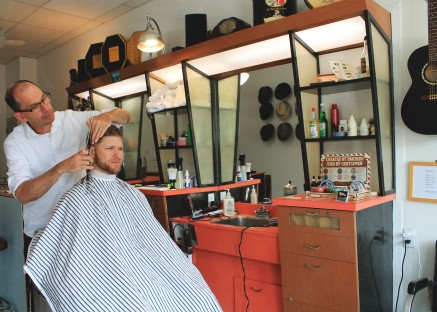 Matthew's Barbershop - Photo by Alanna Gurr